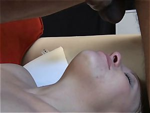 petite ash-blonde hotwife showcases her dt and gargle