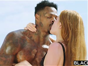 BLACKED bbc longing red Head Gets predominated On Vacation