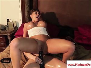 uber-sexy Brandi May and Ava Devine play with fucktoys