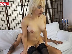 super-fucking-hot cougar gets ravaged hard-core in first time casting