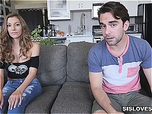 two brothers tag squad their luxurious super-hot stepsister