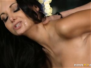 Ava Addams gets a filling from the pool boy