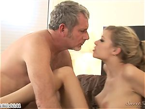 dad romps his young stepdaughter Nicole Ray
