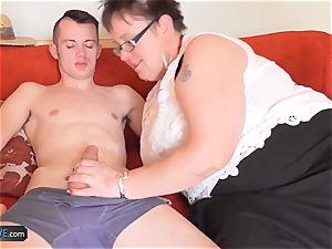 AgedLove large mature stunner gonzo with Sam Bourne