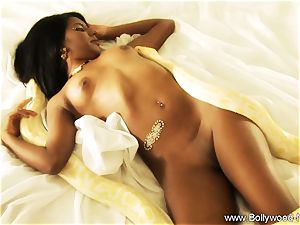 mind-blowing brunette erotic honey