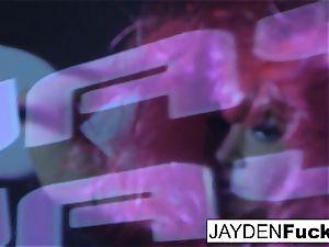 Jayden enjoys to have uber-sexy fun